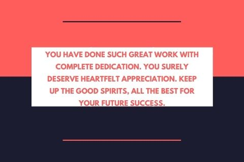 Employee Appreciation Quotes For Good Work