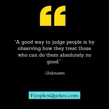 Judgement quotes
