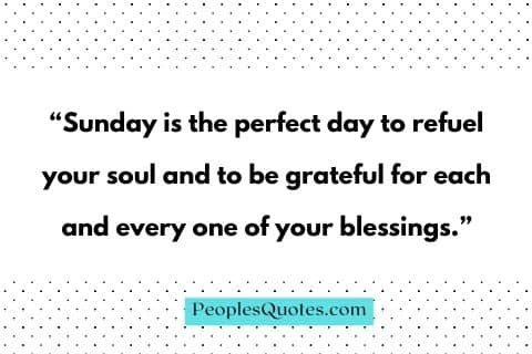 Blessed Sunday quotes and Sayings