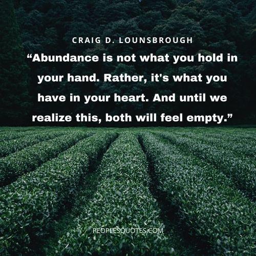 abundant love quotes