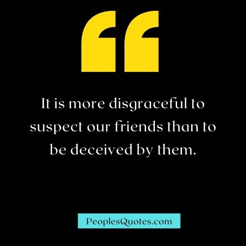 Friends Deceiving Quotes and Sayings