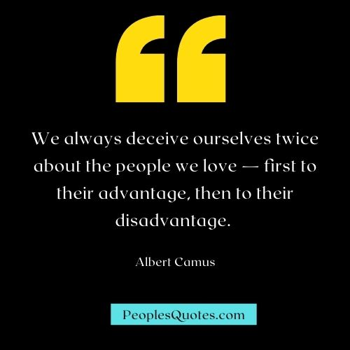 Being Deceived by Someone You Love Quotes