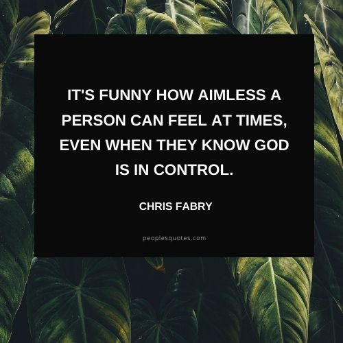 Short Quotes on God Has Everything Under Control