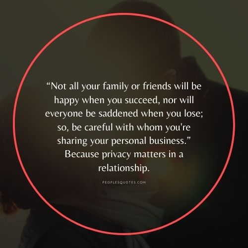 Quotes about Privacy in Relationship with Images