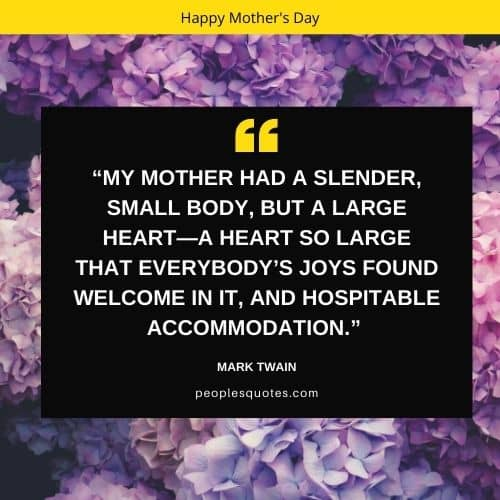 Happy Mother's Day Quotes from a Son