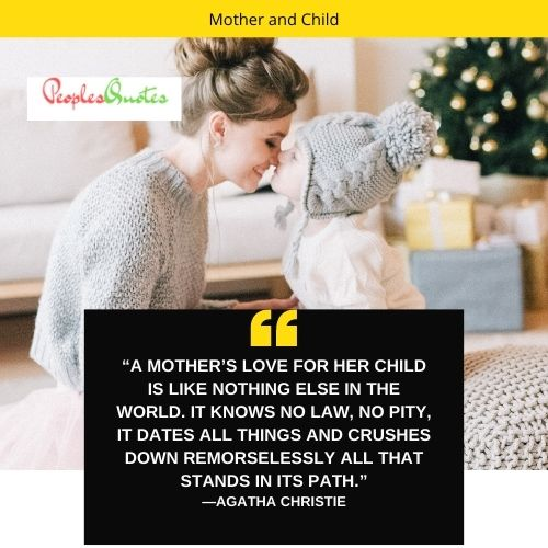quotes about mother and child