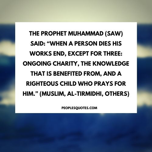 Quotes on giving by Prophet Muhammad (PBUH)