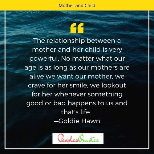 mother and child quotes