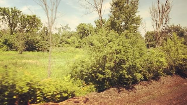 Amtrak Empire Service through upstate New York. #shantyboat #amtrak #upstate