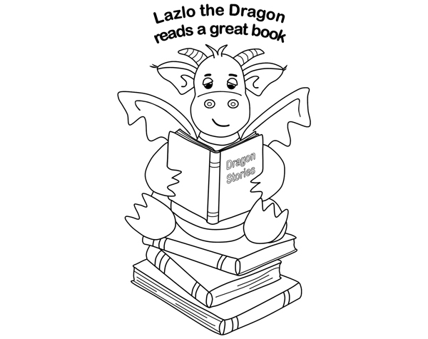 Lazlo the Reading Dragon