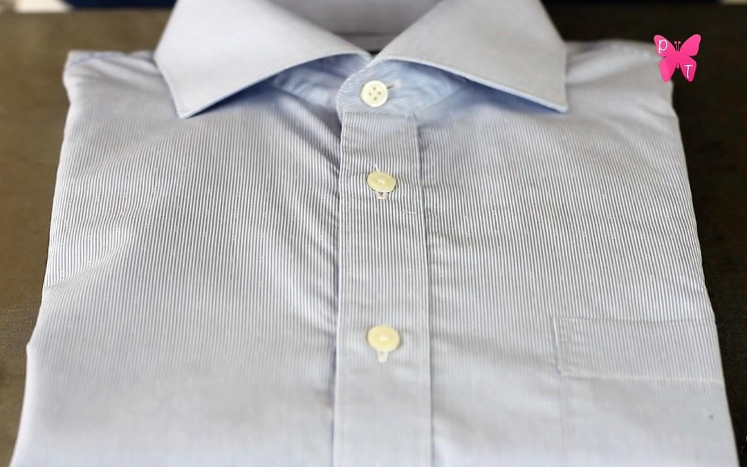 Como doblar camisas con solo 5 pasos fáciles