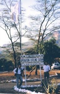 Desde la base de laONU, enLokichokio, en el norte de Kenya, partió Kevin Carter, y también nosotros, para llegar a Ayod aquella jornada(Foto: LUIS DAVILLA)