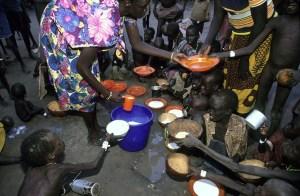 Las hambrunas de 1993 en el sur de Sudán fueron de las más terribles que recuerda África. (Foto: LUIS DAVILLA)