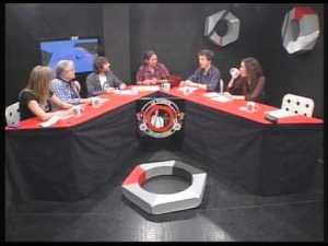 La mesa piramidal y el ojo: programa La Tuerka
