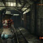 Resident Evil: Revelations 2 - Claire's Rodeo Costume PlayStation 4  Vista posterior del traje durante el juego