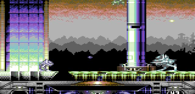 Clystron Commodore 64  en el juego