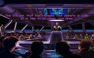 Star Wars: TIE Fighter DOS  El Imperio se reúne con líderes planetarios locales. Todo en interés de la paz y la prosperidad para todos, por supuesto;)