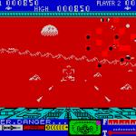3D Lunattack ZX Spectrum  Estas naves son seguramente kamikazes espaciales. Bueno, otro informe para otro vehículo destruido.