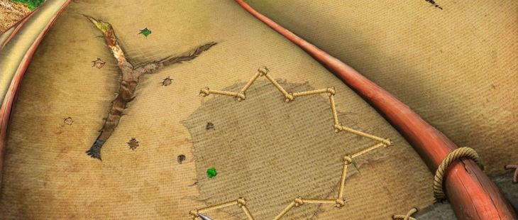 Kate Arrow: Deserted Wood iPad Reparación de ala delta