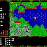 Questron II DOS  as en ultima, tendrás diferentes tipos de transportes...
