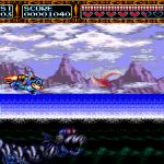 Rocket Knight Adventures Genesis  Una anaconda mecánica de mar ... ahora yo Lo he visto todo.