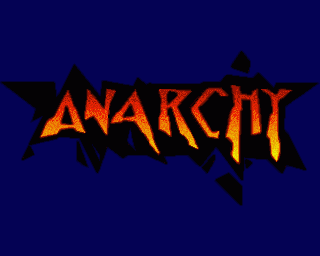 Anarchy Amiga Pantalla de título