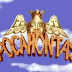 Pocahontas DOS Pantalla de título