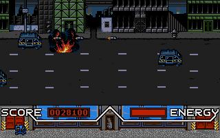 Total Recall Atari ST  Explosión agradable
