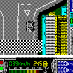 Paris-Dakar ZX Spectrum  Inicio de la carrera