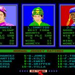 Omni-Play Horse Racing Amiga  jinete Ratings.