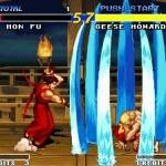 Real Bout Fatal Fury Neo Geo  Pantalla de título.