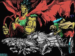 Coliseum MSX  Pantalla de carga