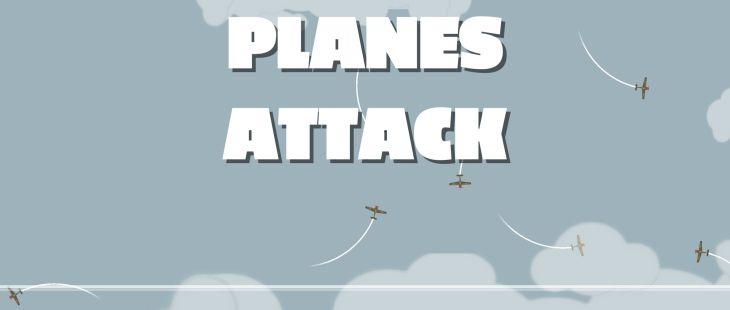 Planes Attack Windows La Pantalla de título