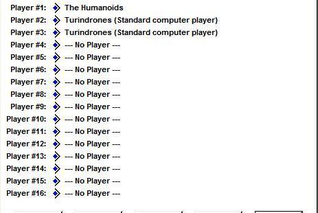 Stars! Windows 3.x  Asistente de juego nuevo avanzado página 2 - Selección de jugadores