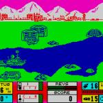 Gunboat ZX Spectrum  Comenzando bajo el fuego