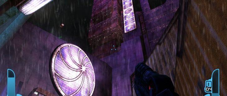 Judge Dredd: Dredd vs Death Windows Los brillantes rascacielos de Mega City One.