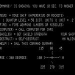 Space Battle TRS-80 Instrucciones