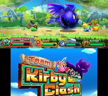 Team Kirby Clash Deluxe Nintendo 3DS Team Kirby Clash Deluxe_2