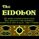 The Eidolon MSX Pantalla de título