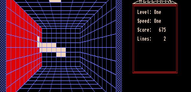 WellTrix Amiga  Un bloque sobresaliente ha bloqueado una pared