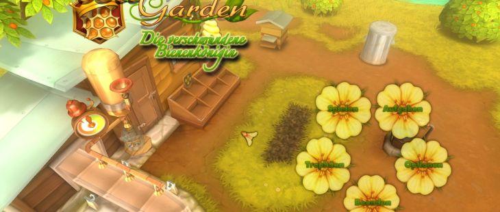 Bee Garden: The Lost Queen Windows  menú