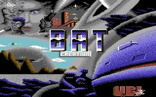 B.A.T. Commodore 64 Pantalla de título