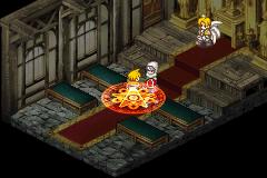 Black/Matrix Zero Game Boy Advance  A punto de ser golpeado por un hechizo devastador
