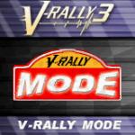 V-Rally 3 Game Boy Advance  título y menú principal.