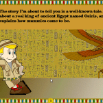Archibald's Guide to the Mysteries of Ancient Egypt Windows 3.x