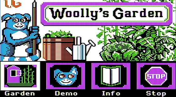 Wooly's Garden Apple II