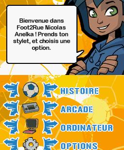 Foot 2 Rue: Nicolas Anelka Nintendo DS