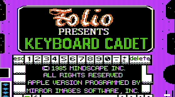 Keyboard Cadet Apple II