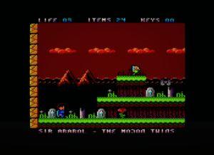 Sir Ababol: Remastered Edition Amstrad CPC Sir Ababol: Remastered Edition_2