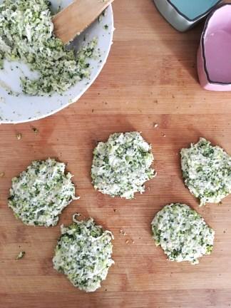 hamburguesas de brocoli pepelovestroya
